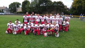 2015 5th - 6th Grade Football Team
