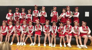 Great Job by all of our cheer teams at competition